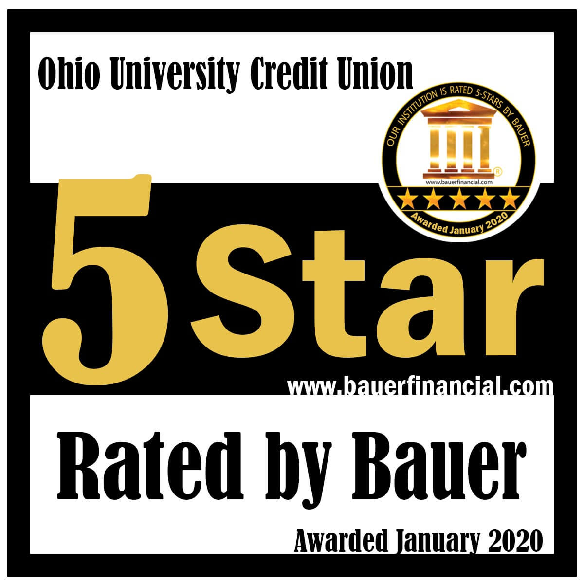 Bauer 5 Star Rating