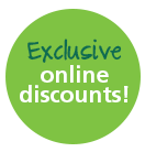 Exclusive online discounts