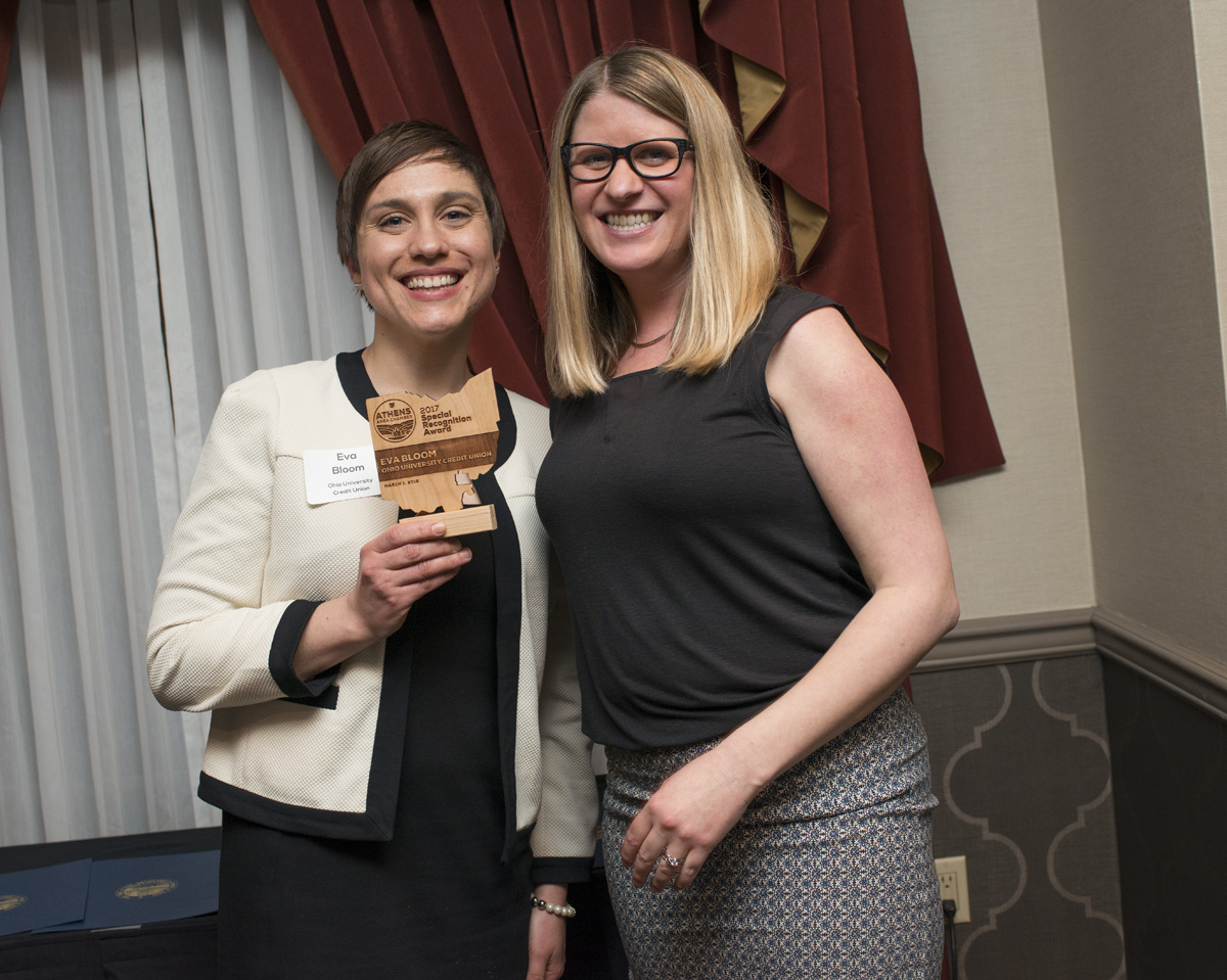Athens Area Chamber of Commerce Awards Eva
