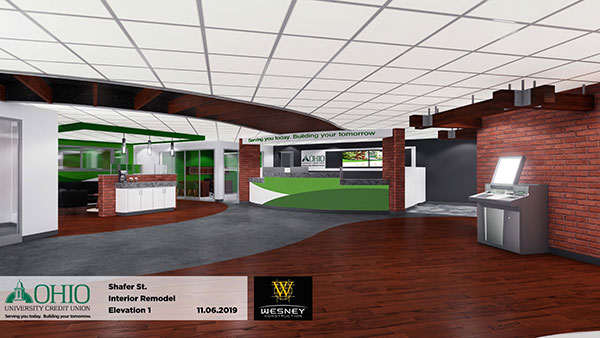 Shafer Street Lobby Renovation
