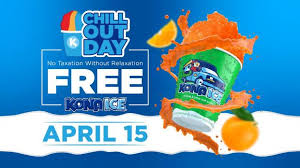 Kona Ice Chill Out Day